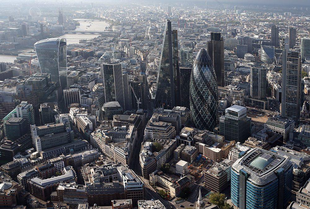 A week of presentations and meetings in London